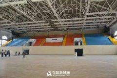 青岛新九中体育馆项目