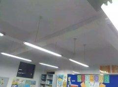 青岛小学教室新风项目